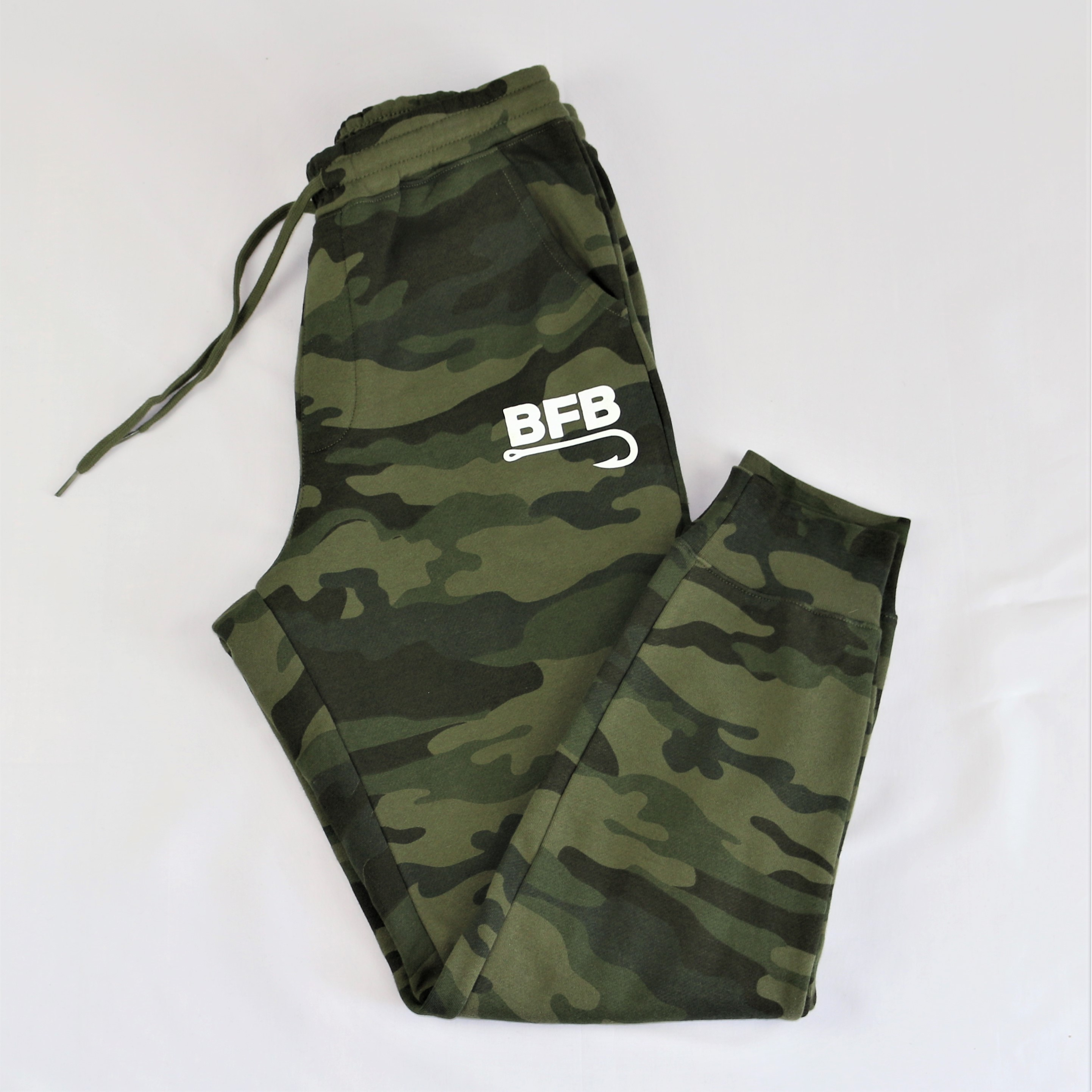 "BFB Classic Sweatpants ""Forest Camo"""