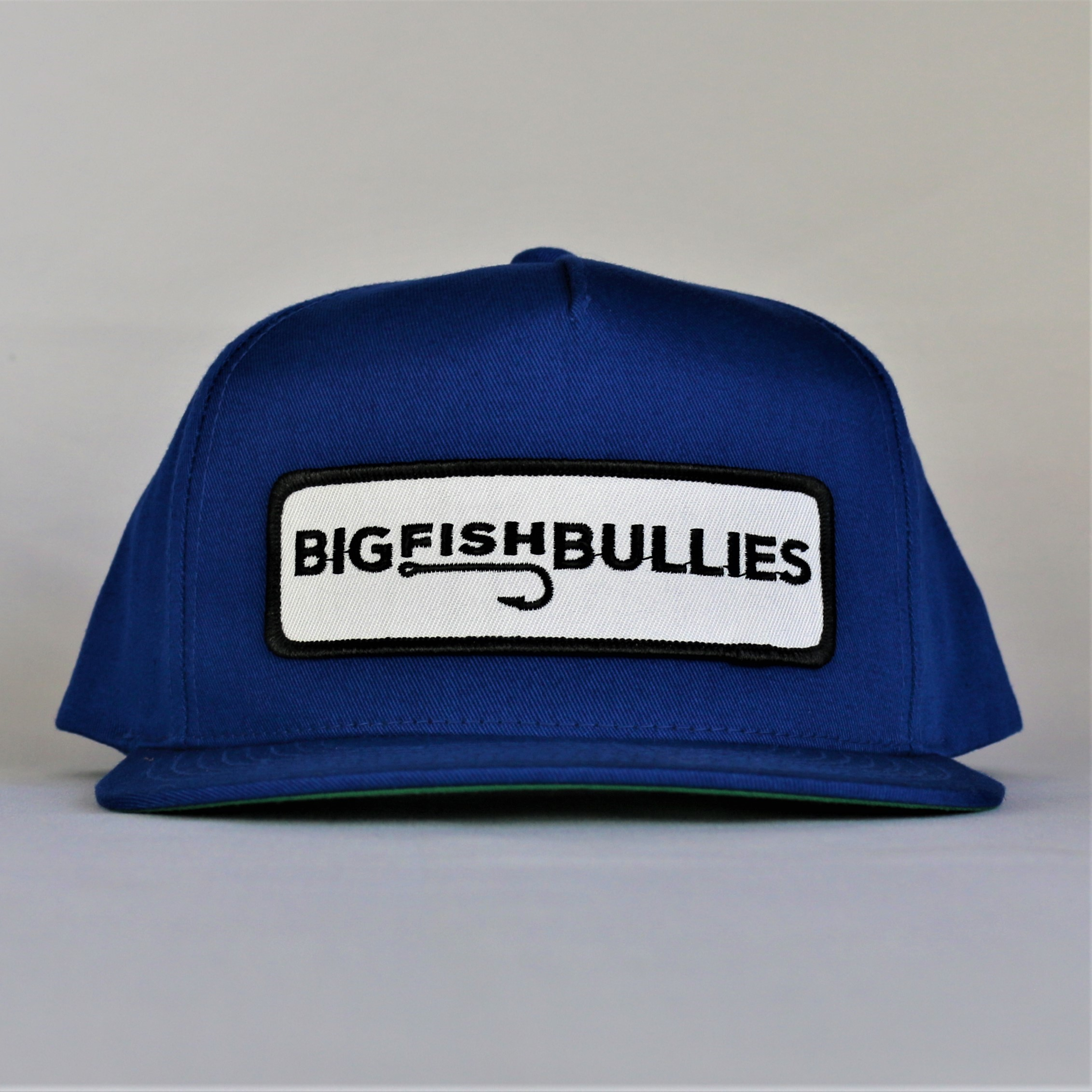 """Hooked Patch Cotton Twill Snapback """"Royal"""""""