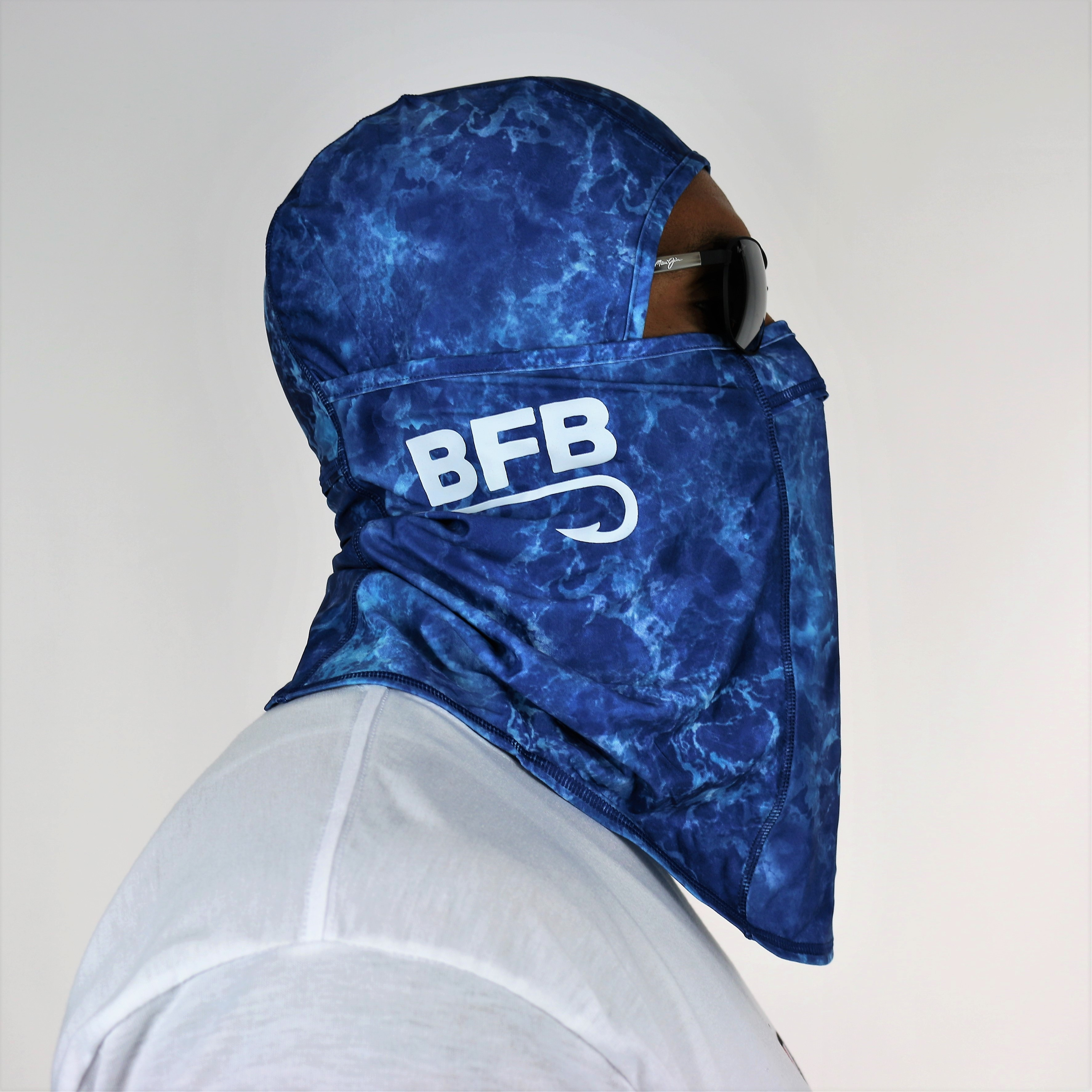 """BFB Classic Coolibar Fishing Mask """"Blue Water"""""""