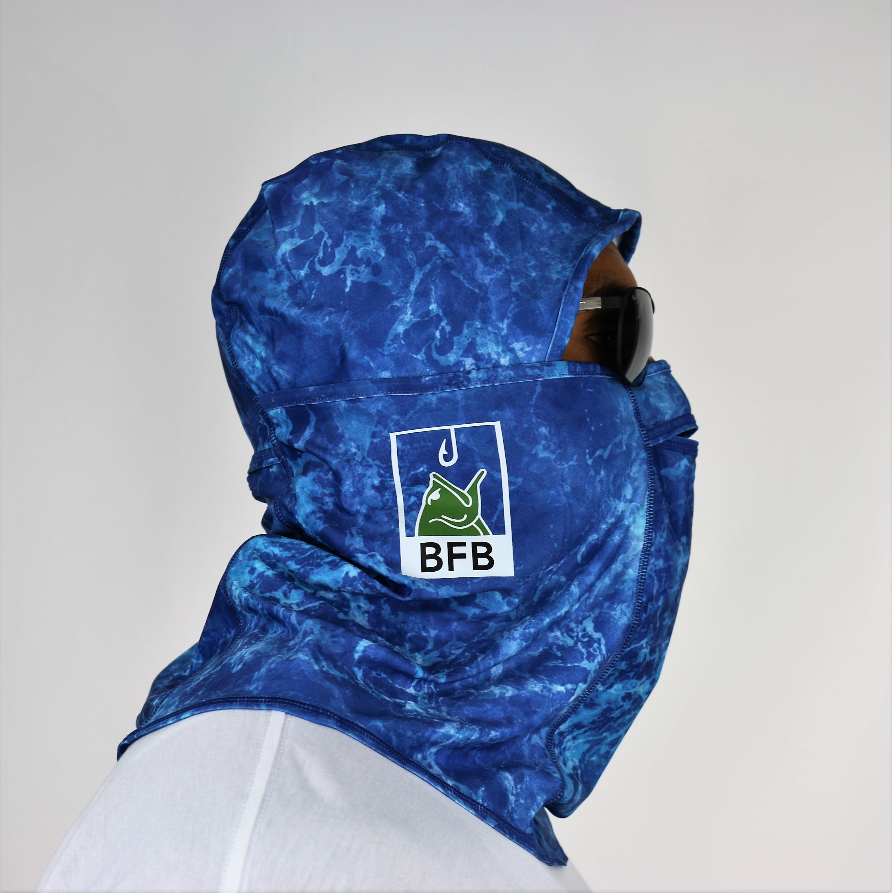 "BFB Bass Coolibar Fishing Mask ""Blue Water"""