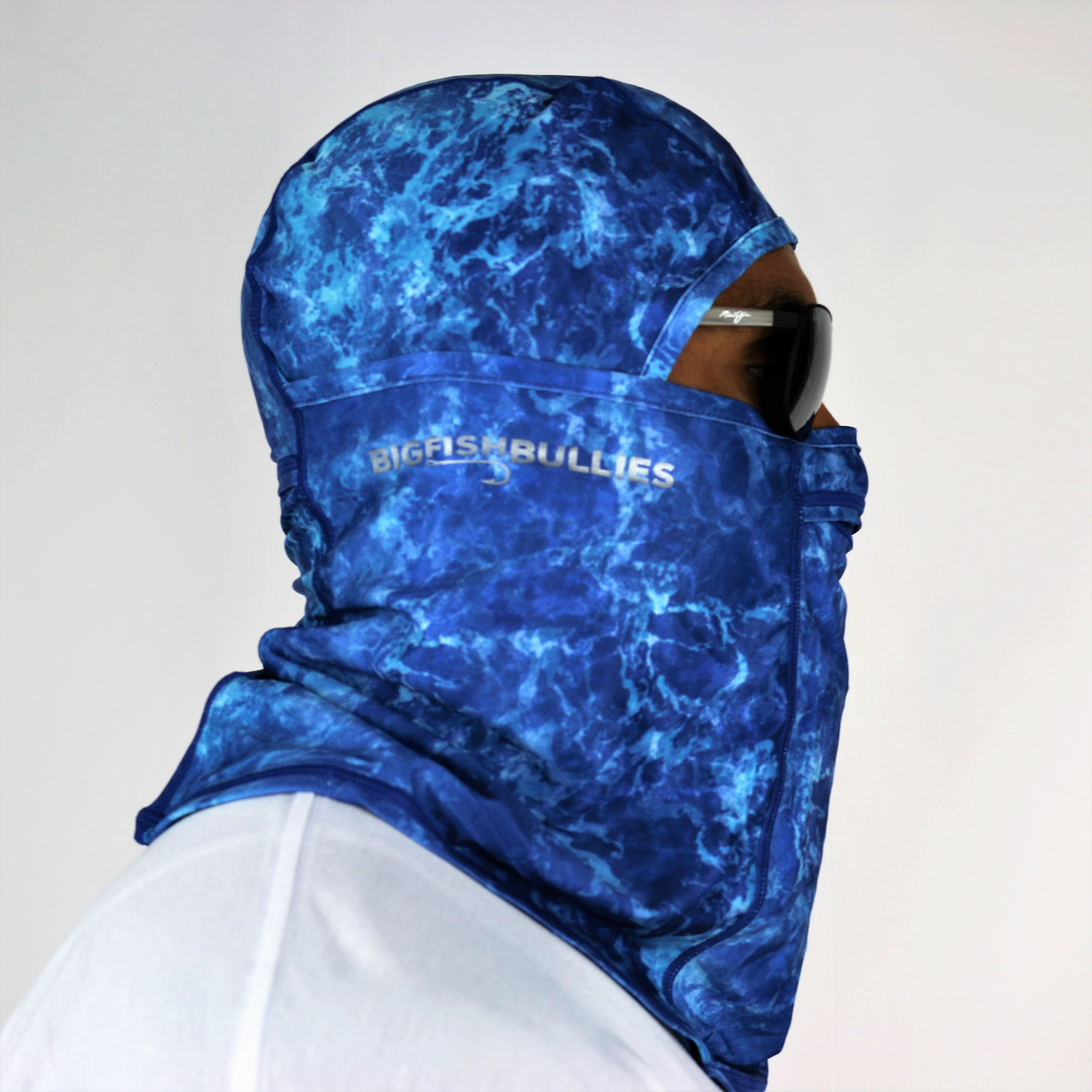 "Hooked Coolibar Fishing Mask ""Blue Water"""
