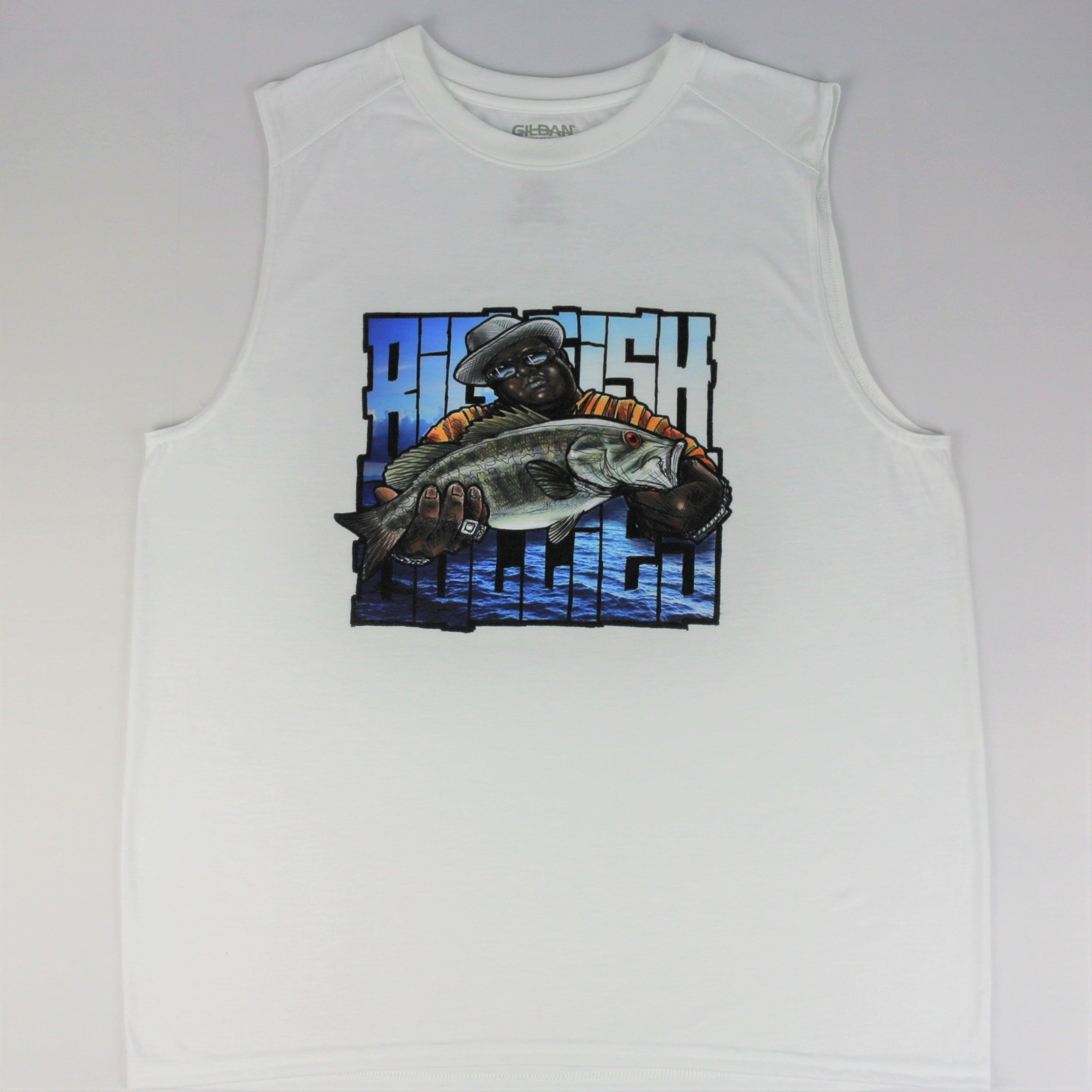 The BigSmallmouthBully Muscle Tee
