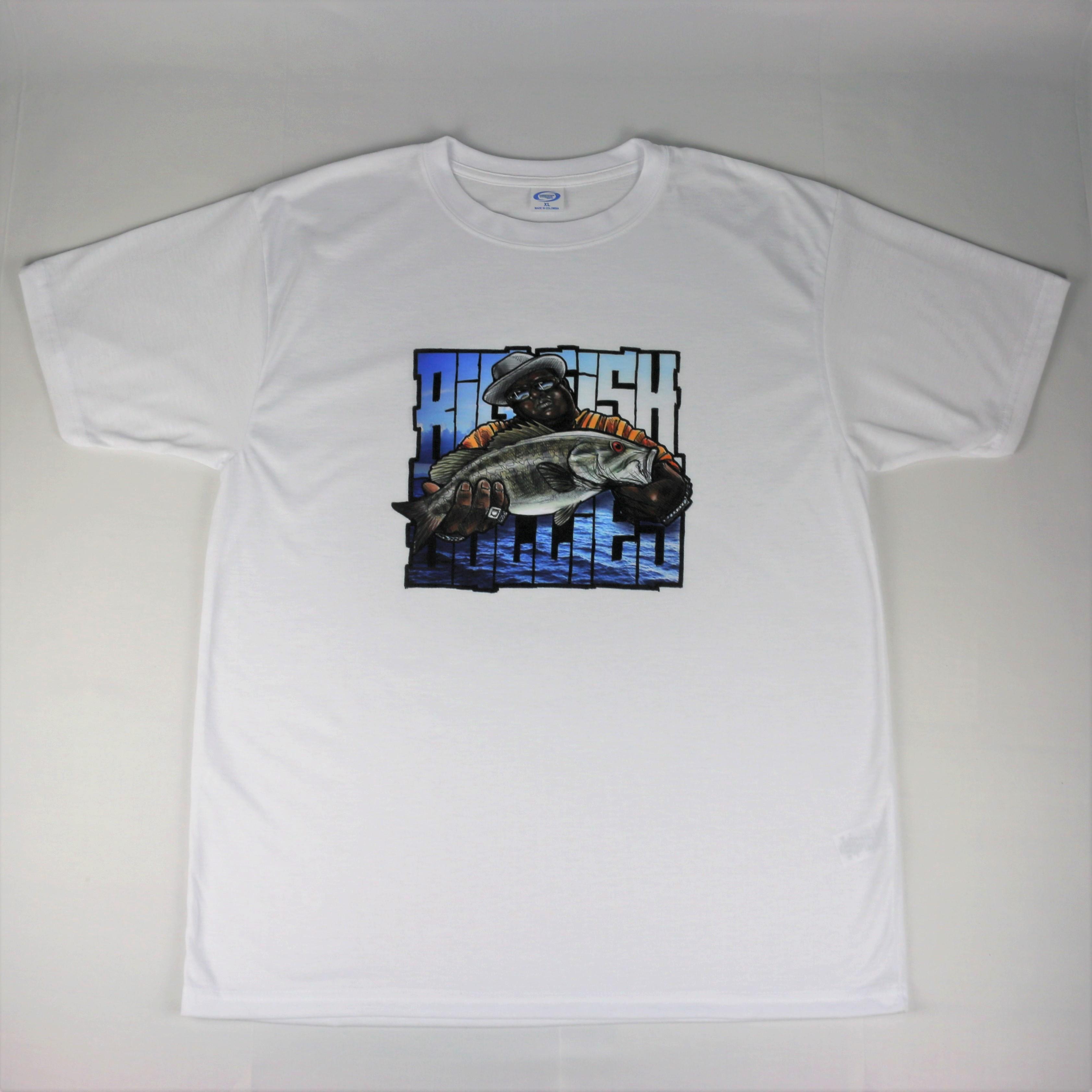 "The BigSmallmouthBully T-Shirt ""White"""