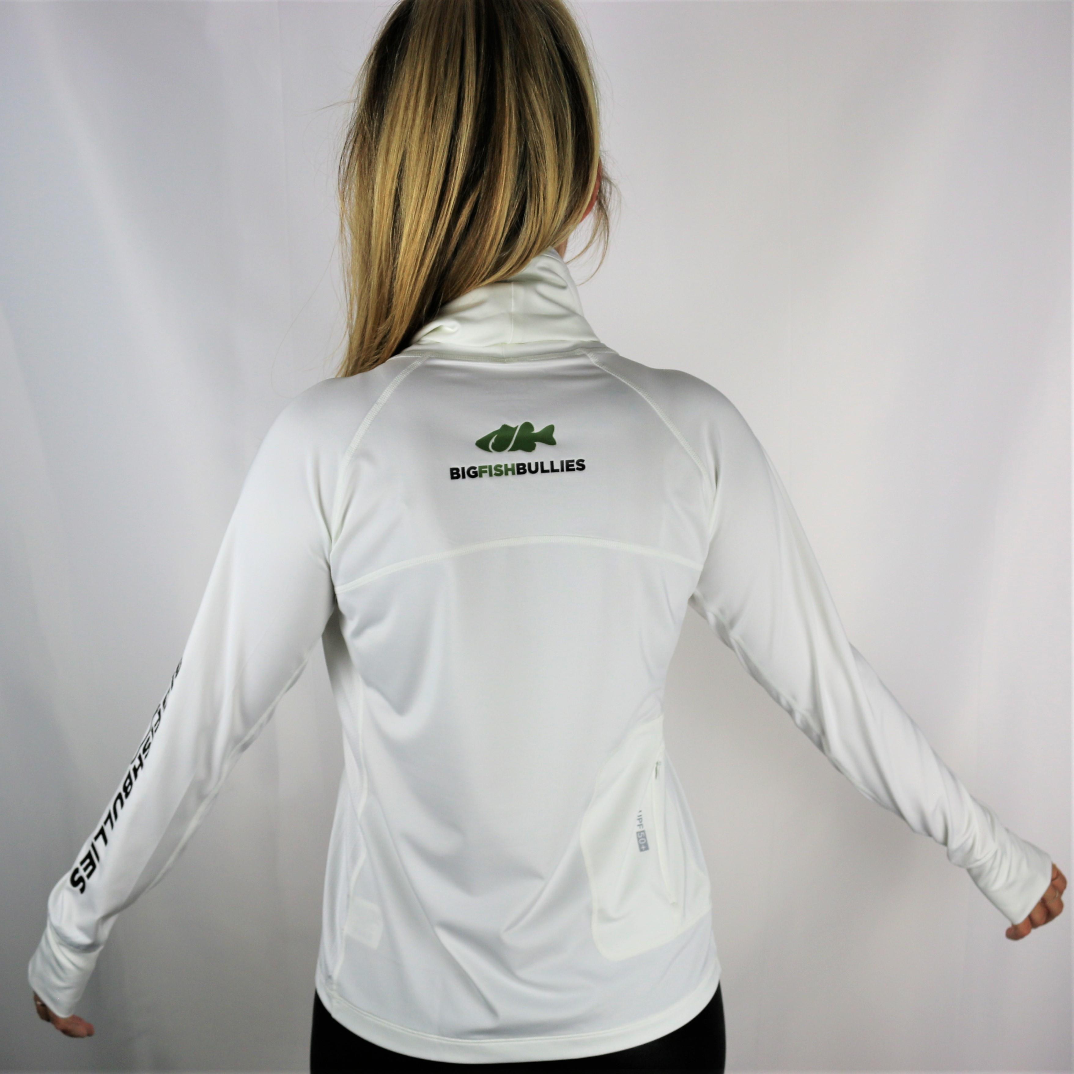 """Go-Fish Women's Coolibar Sun Shirt """"White"""""""